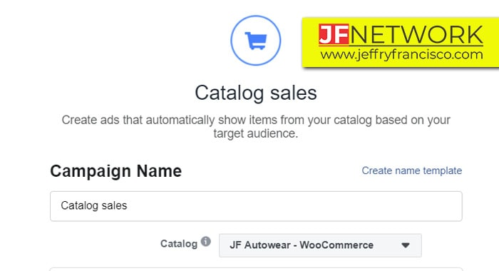 Objective catalog Sales