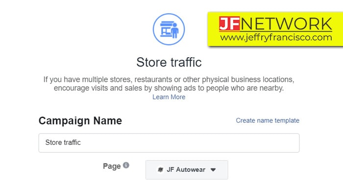Objective Store Traffic