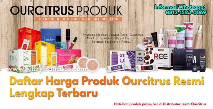 Daftar Harga Produk Ourcitrus
