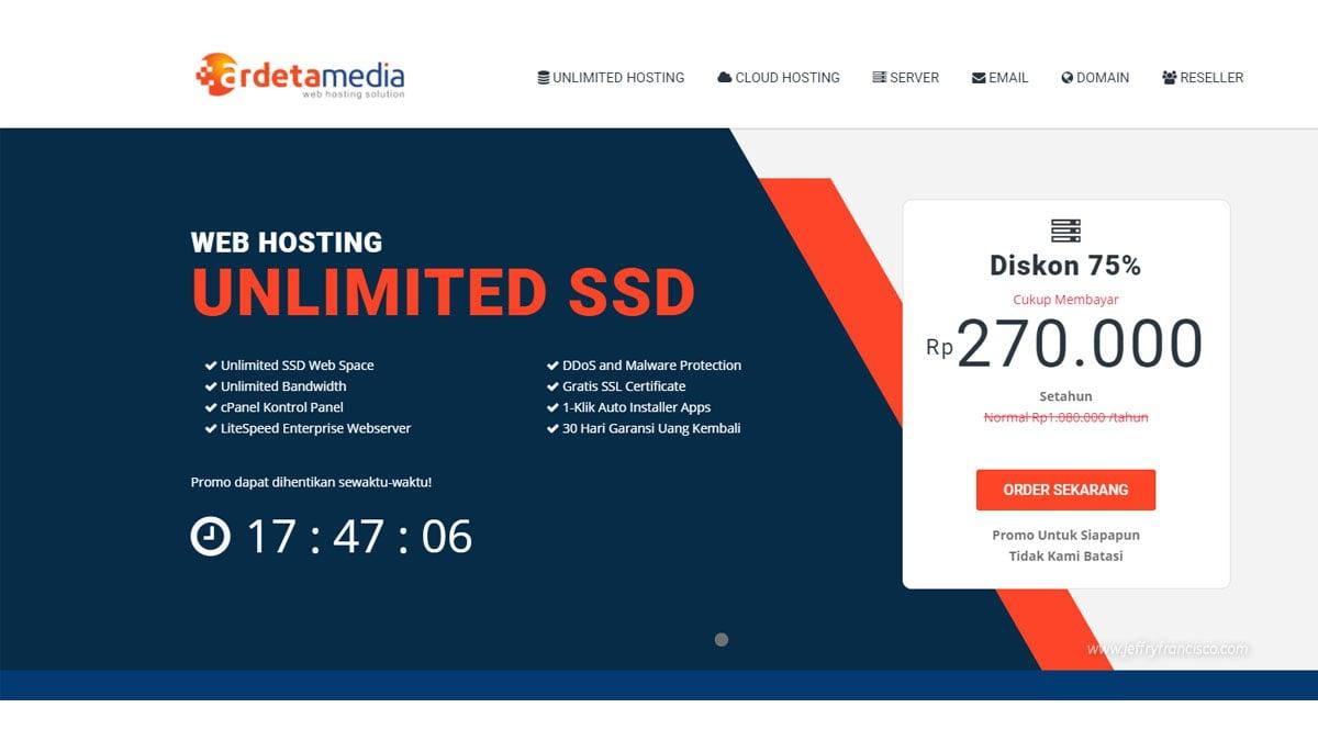 Hosting Ardetamedia SSD